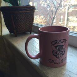 crazy cat lady coffee
